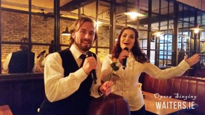 Opera Singers for hire with www.operasingingwaiters.ie